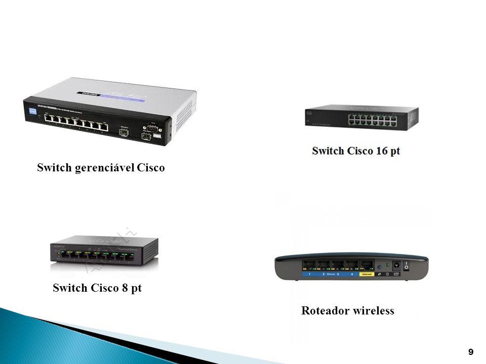 20  Foi utilizado a técnica de VLAN na estrutura da rede do ambiente, criando uma rede separada para acesso dos clientes  Foi utilizado o método de autenticação WPA2, que introduz o AES como algoritmo de criptografia a ser utilizado.