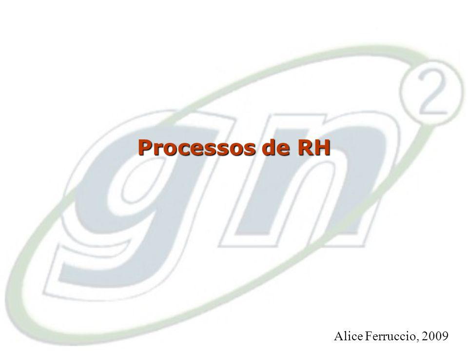 41 O Processo de Contratação Alice Ferruccio, 2009