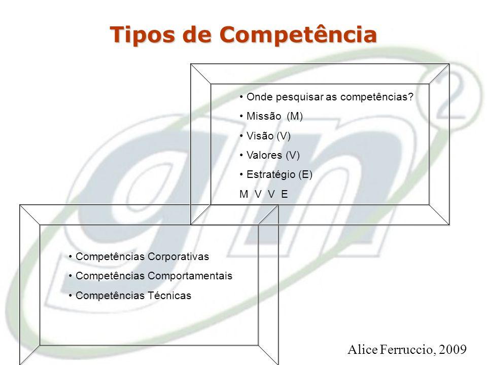 Competência é a capacidade de integrar e colocar em ação conhecimentos, habilidades e atitudes requeridas pela especificidade das atividades desempenh