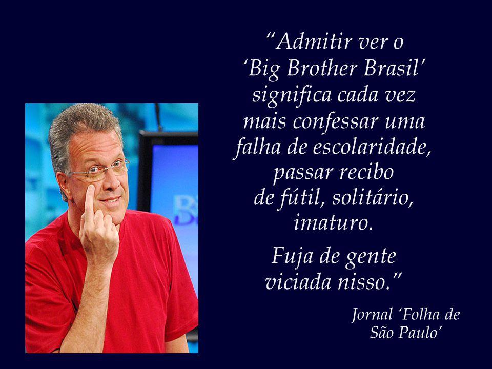 """""""Você não perde por espiar! Pode bisbilhotar à vontade!..."""" Pedro Bial"""
