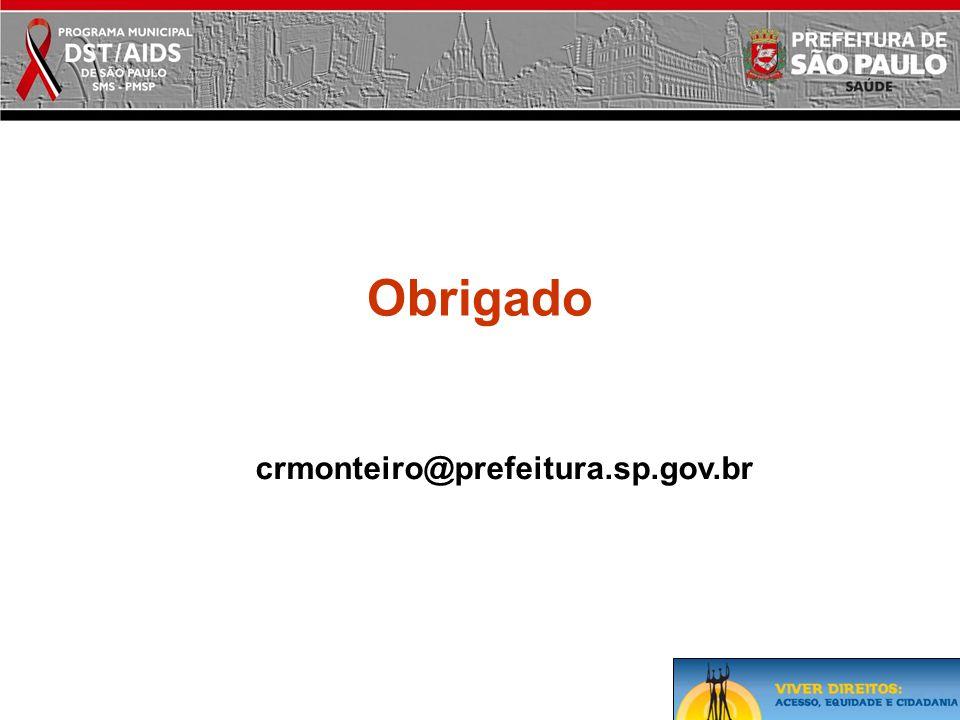 Obrigado crmonteiro@prefeitura.sp.gov.br
