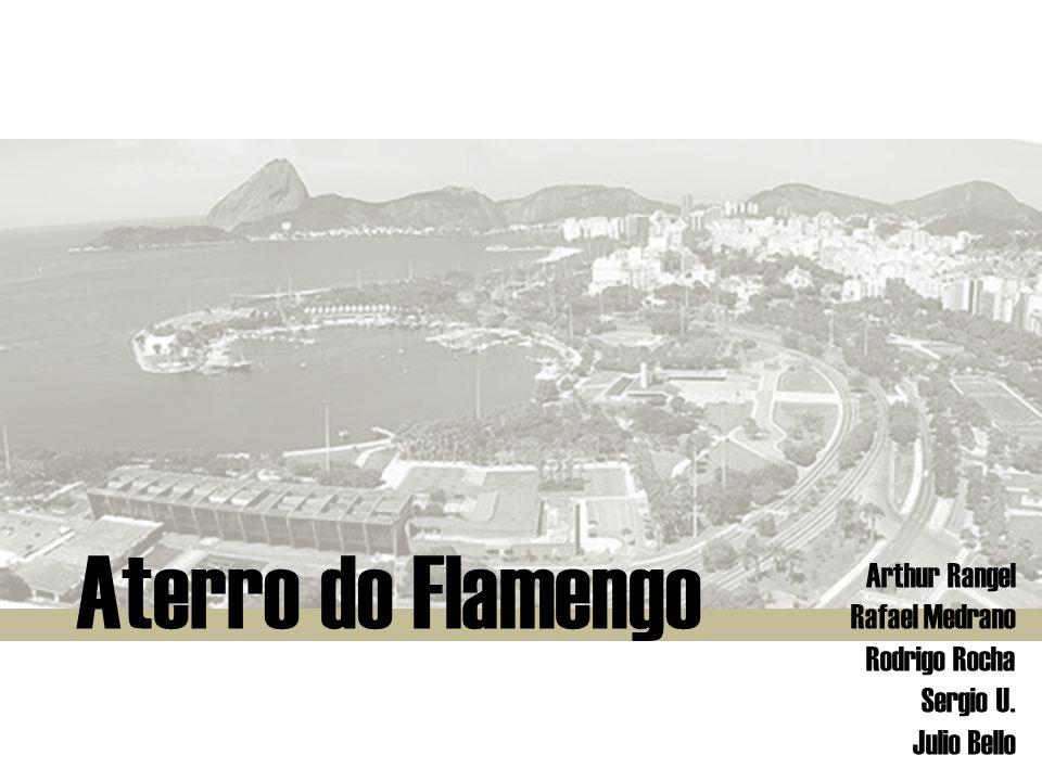 Aterro do Flamengo Projeto : Parque do Flamengo Ano do projeto : 1954 a 1959 Início das Obras: 1961 Projeto Urbanístico e Arquitetônico : Affonso Eduardo Reidy Projeto Paisagístico : Roberto Burle Marx Local : Cidade do Rio de Janeiro – RJ.