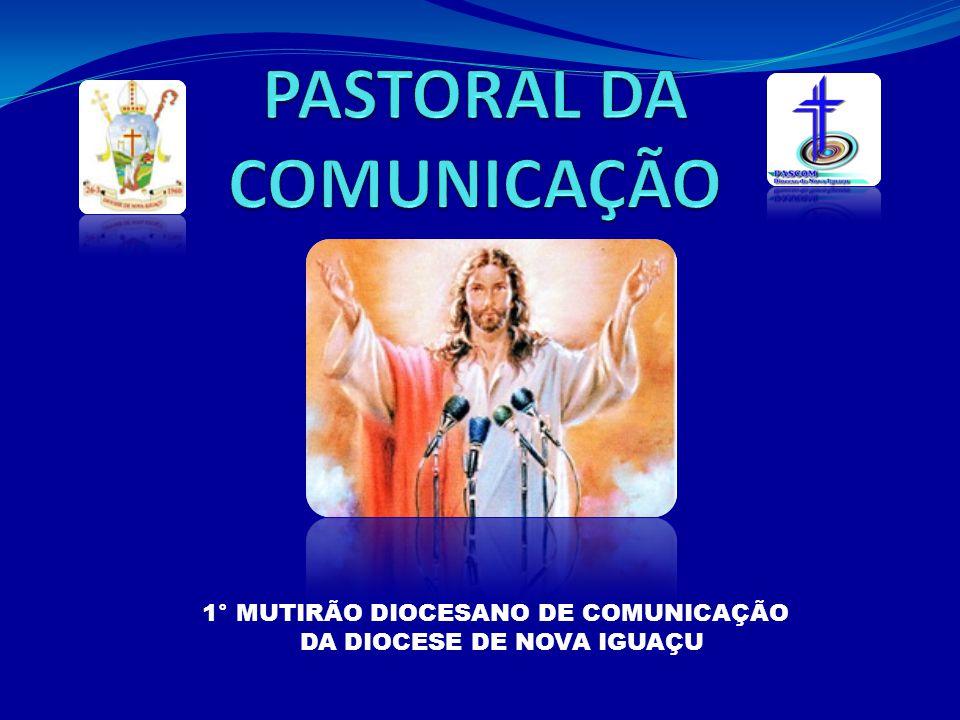 Primeiro passo: a iniciativa deve partir do padre ou dos fiéis, quando perceberem a necessidade de ter uma pastoral que cuide da comunicação na Igreja (comunicação interna e externa).