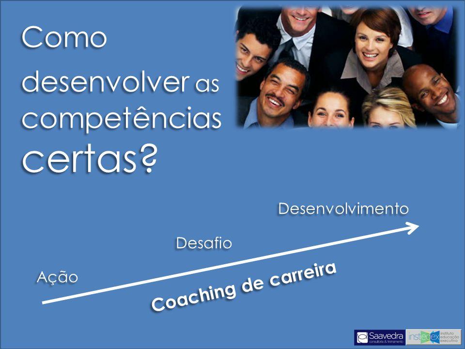 Desenvolvimento Desafio Ação Desenvolvimento Desafio Ação Como desenvolver as competências certas.
