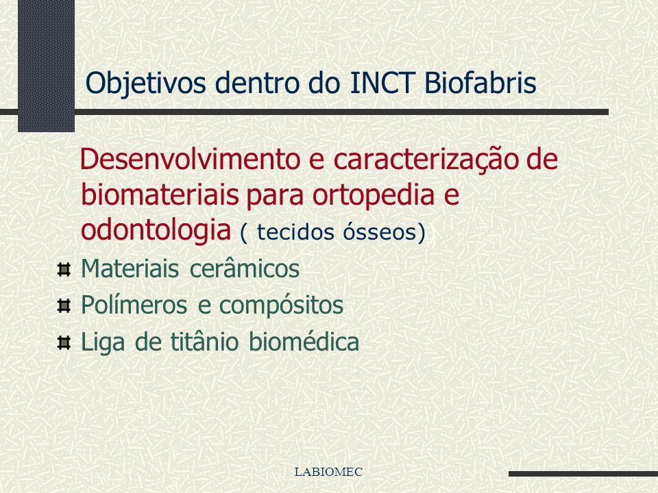 Atividades ( continuação) 3. Utilizar os biomateriais aqui desenvolvidos diretamente nos equipamentos de prototipagem rápida 4. Fazer scaffolds direta