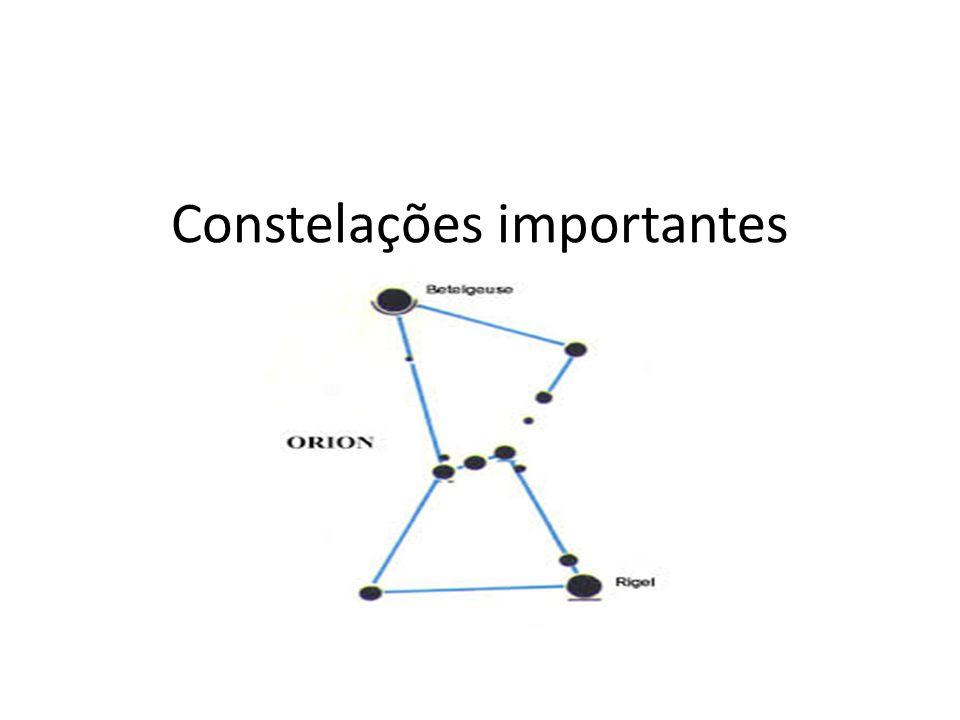 Constelações importantes