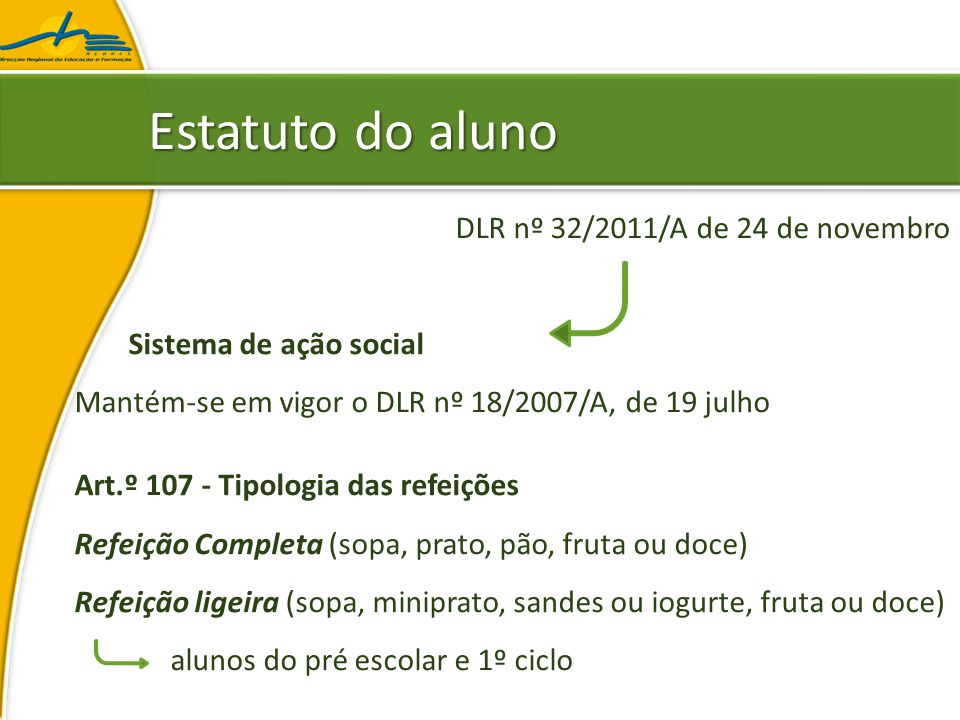 Circular nº 14/DGIDC/2007 Anexo B – EMENTAS ₋Composição (cont.) ₋Semanalmente, 1 prato de peixe fracionado; ₋Semanalmente, 1 prato de peixe à posta; ₋Mensalmente, 2 pratos de bacalhau; ₋(…) ₋Fritos, apenas 1 vez em cada 2 semanas; OrientaçõesOrientações