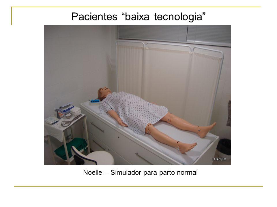 Pacientes baixa tecnologia Noelle – Simulador para parto normal