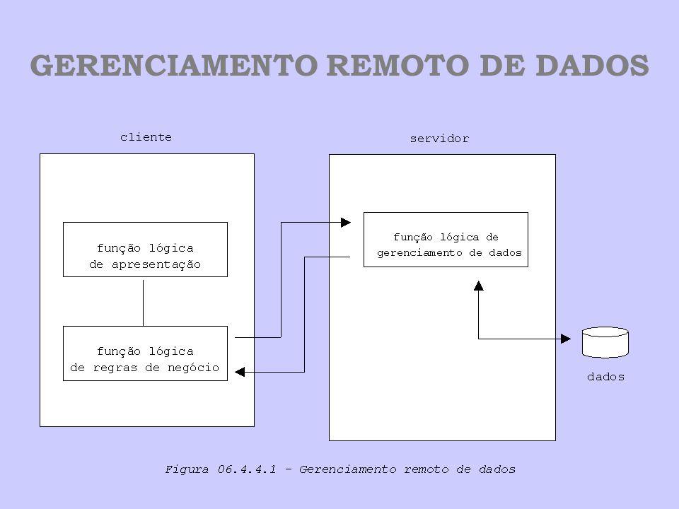 GERENCIAMENTO REMOTO DE DADOS