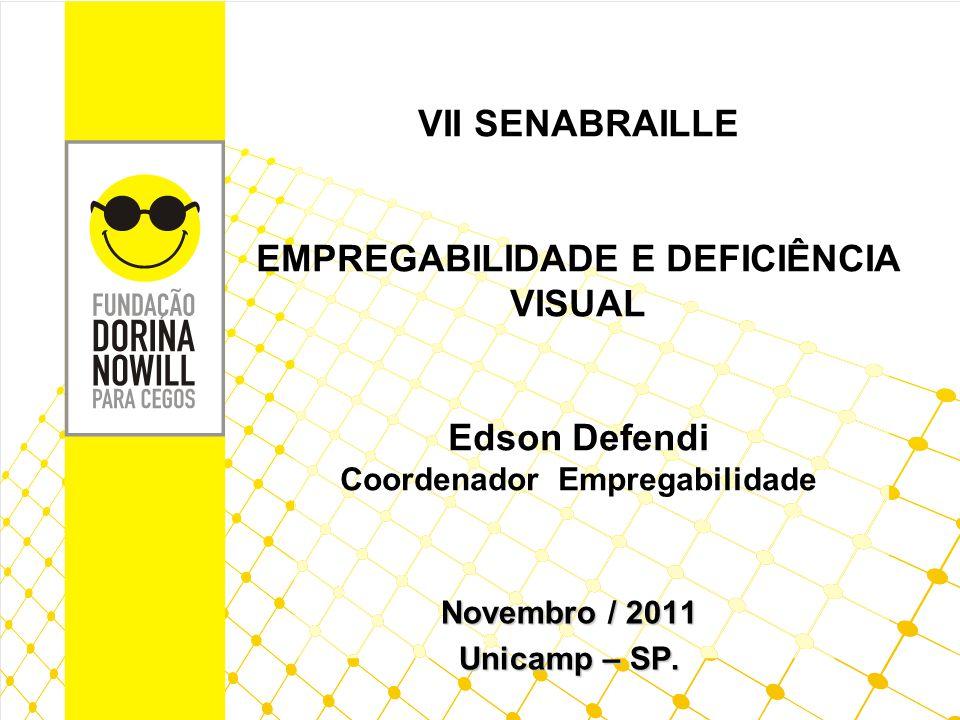 MISSÃO E VALORES Missão Facilitar a inclusão social de pessoas com deficiência visual, respeitando as necessidades individuais e sociais, por meio de produtos e serviços especializados.