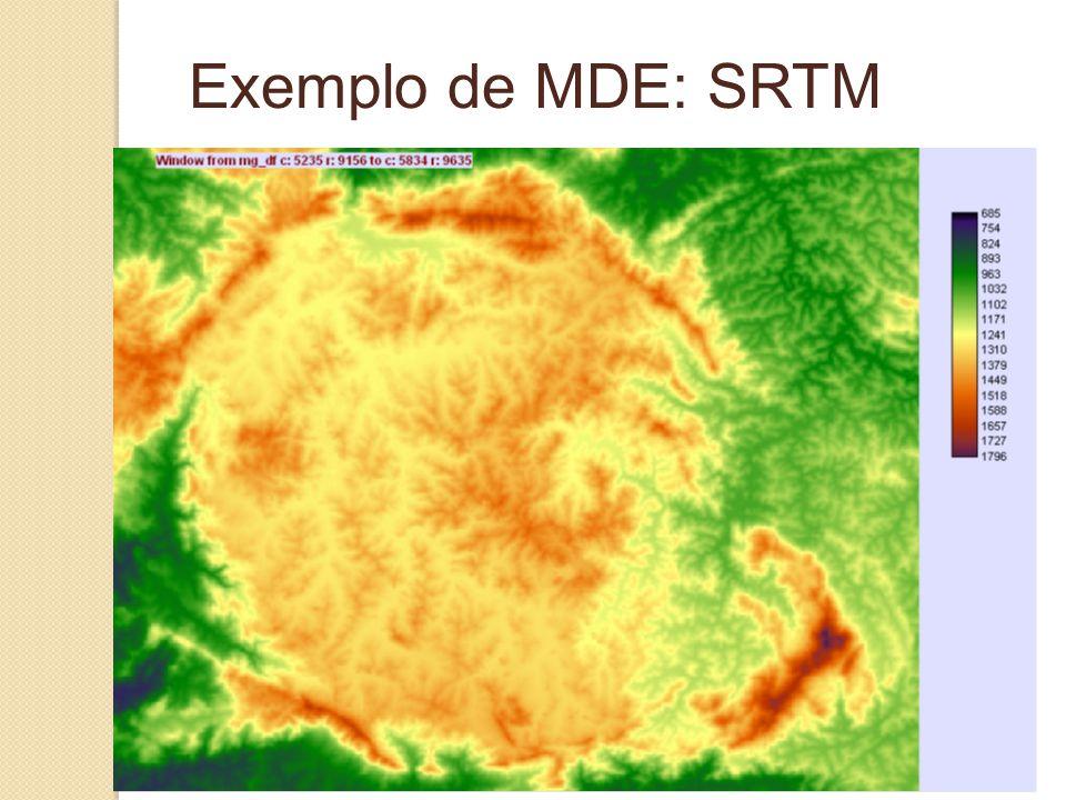 Exemplo de MDE: SRTM
