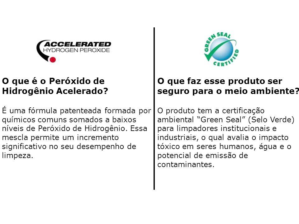 """Fórmula Única O que faz esse produto ser seguro para o meio ambiente? O produto tem a certificação ambiental """"Green Seal"""" (Selo Verde) para limpadores"""