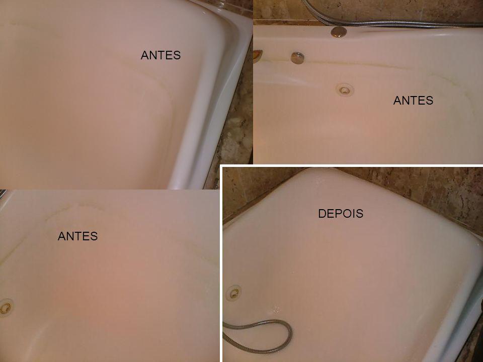 DEPOIS ANTES