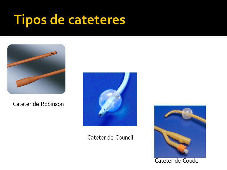 Cateter de Robinson Cateter de Council Cateter de Coude