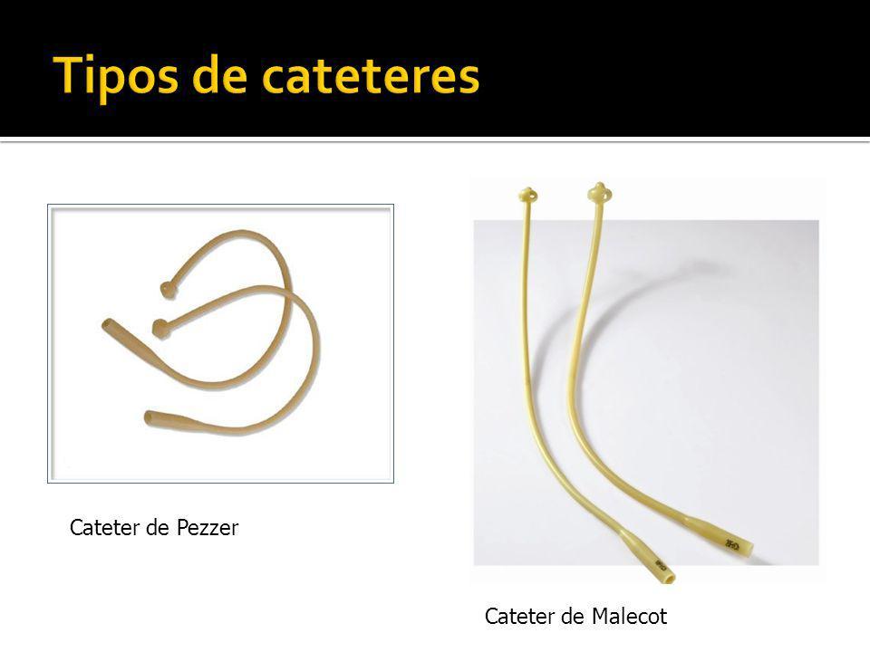 Cateter de Malecot Cateter de Pezzer