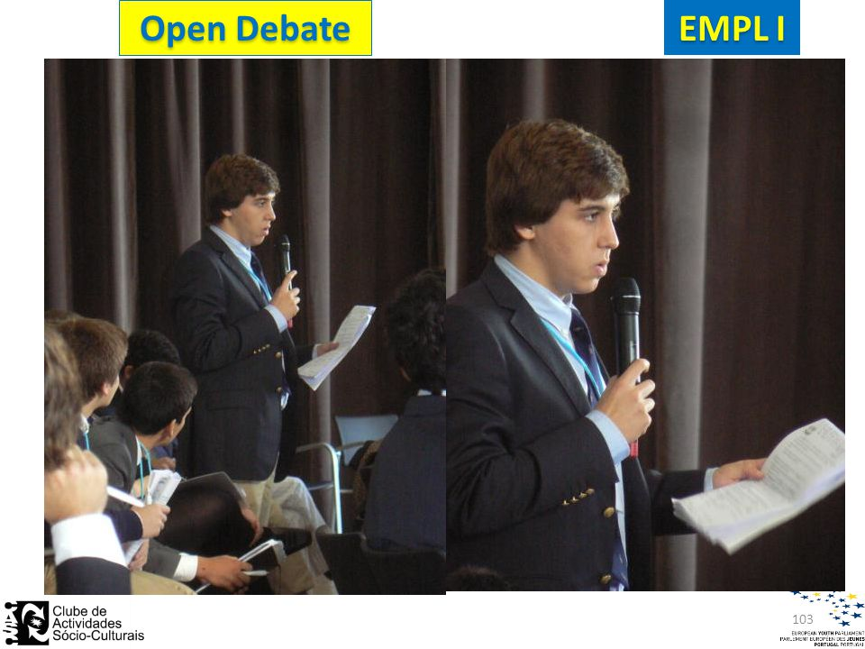 103 EMPL I Open Debate