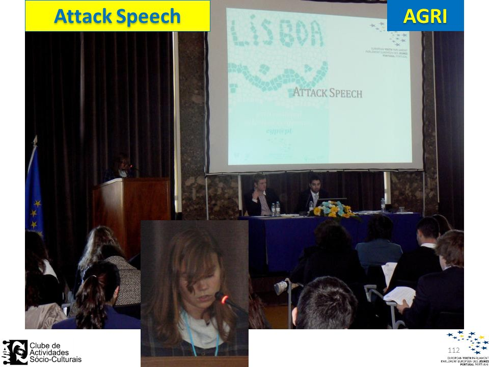 112 Attack Speech AGRI