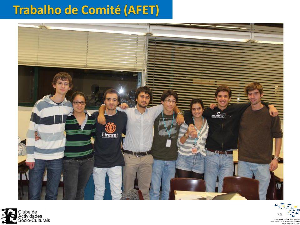 Trabalho de Comité (AFET) 36