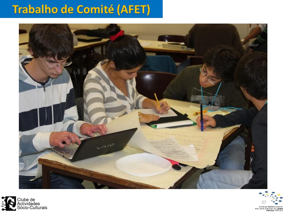 Trabalho de Comité (AFET) 37