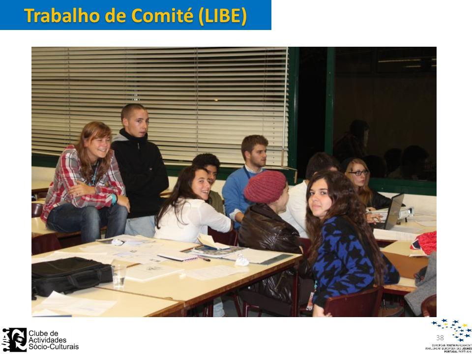 Trabalho de Comité (LIBE) 38