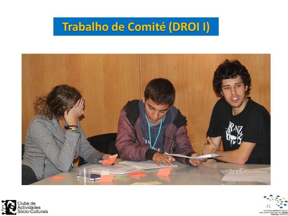 Trabalho de Comité (DROI I) 41