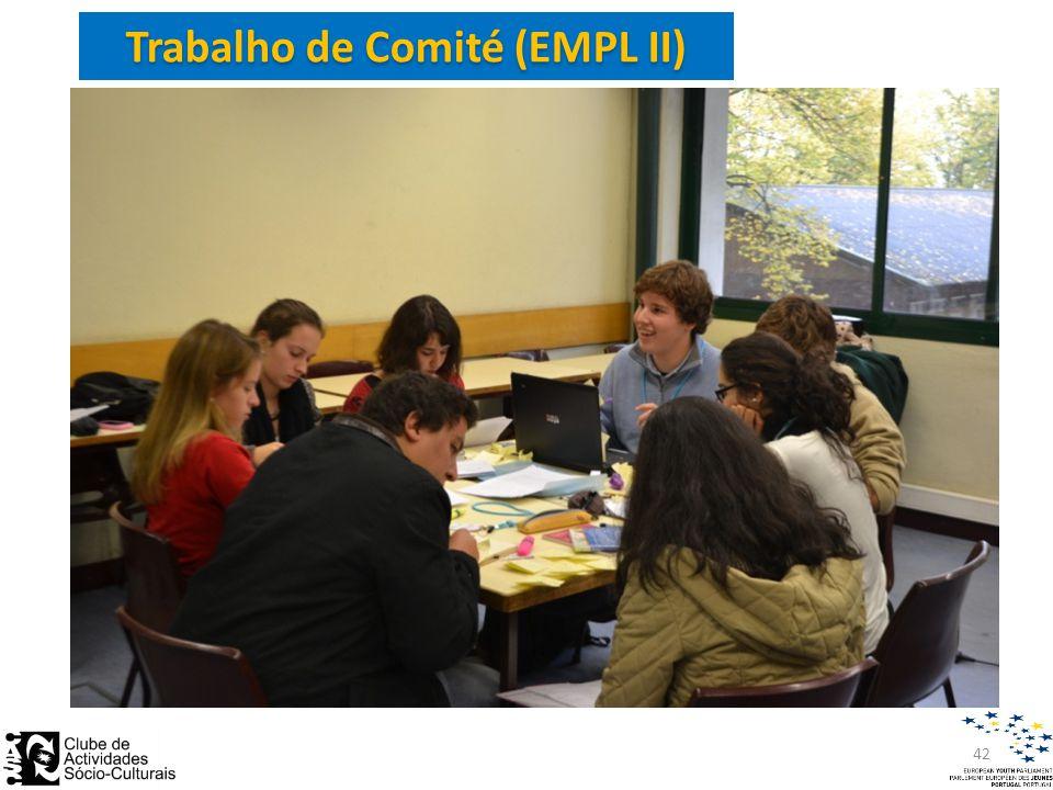 Trabalho de Comité (EMPL II) 42