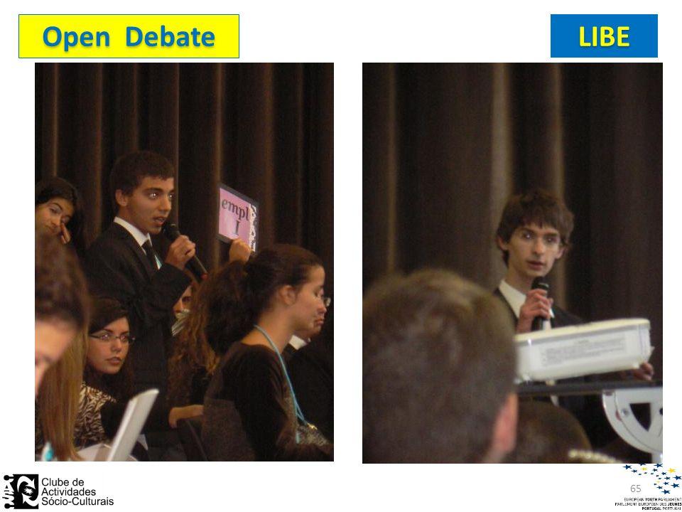 Open Debate LIBE 65