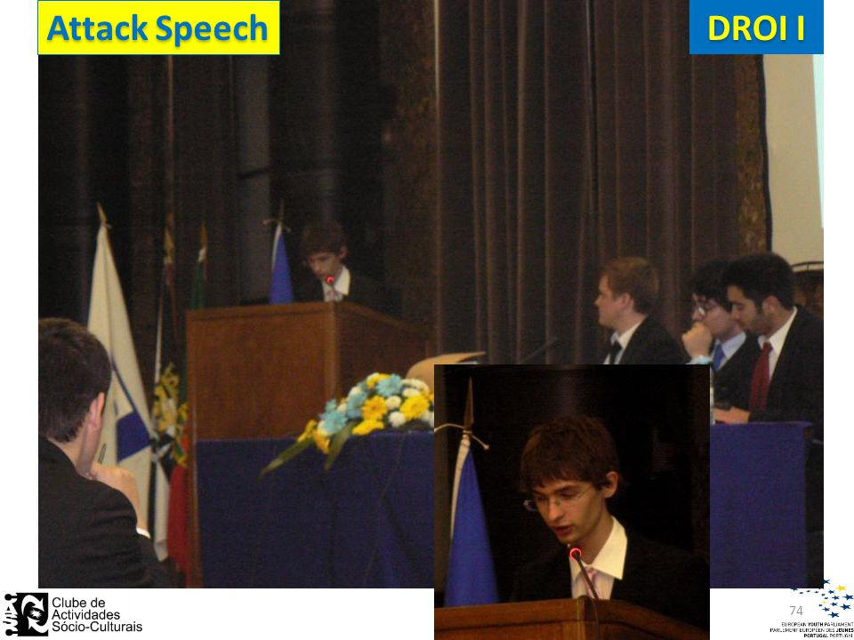Attack Speech DROI I 74