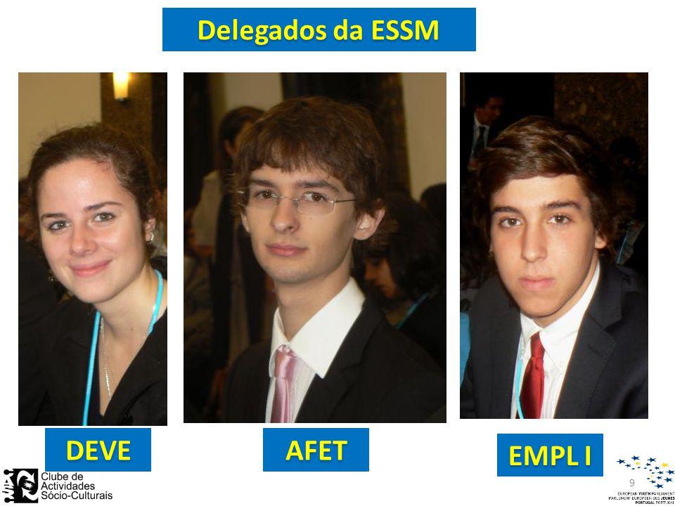DEVEAFET EMPL I Delegados da ESSM 9