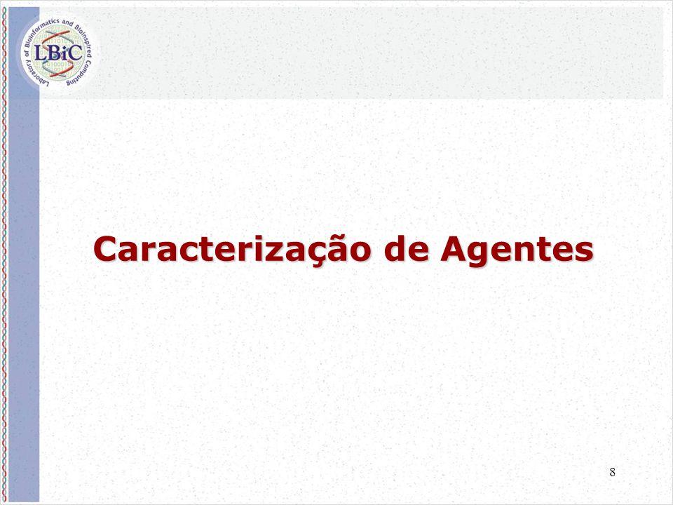 8 Caracterização de Agentes
