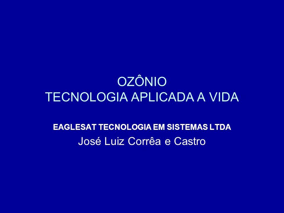 ÁGUA OZONIZADA USO MEDICINAL OXIGÊNIO, OZÔNIO E PERÓXIDO DE HIDROGÊNIOOZÔNIO