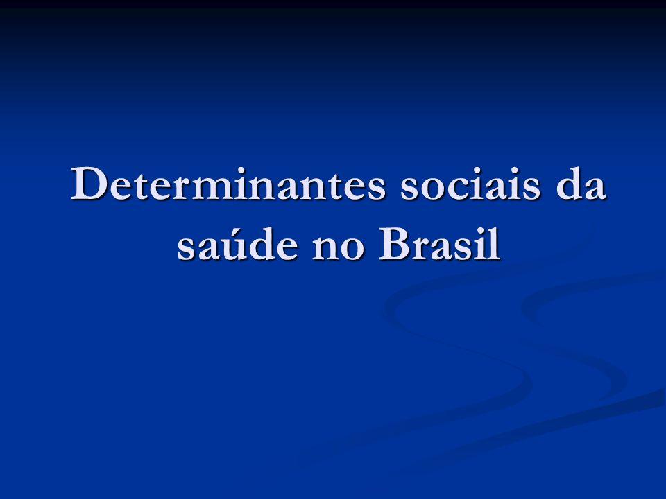 Determinantes sociais da saúde no Brasil