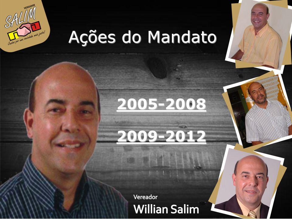Ações do Mandato 2005-2008 2009-2012