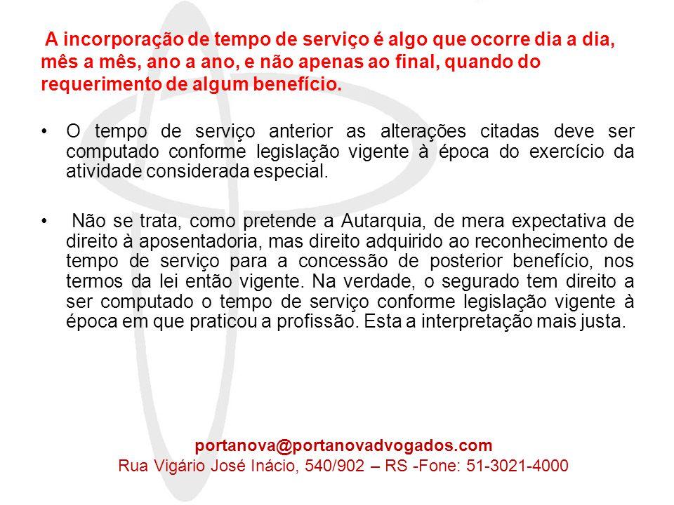 ACRÉSCIMO DE CONTRIBUIÇÃO PATRONAL •§ 6º do artigo 57 da Lei 8.213/91 eleva a contribuição patronal previstas no artigo 22, II, da Lei 8.212/91 em 12%, 9% e 6% (redação dada pela Lei 9.732/98); •O artigo 195, § 5º da CF Guide = diretriz = princípio virtual Fere a constituição a elevação da carga tributária sem a respectiva contrapartida.