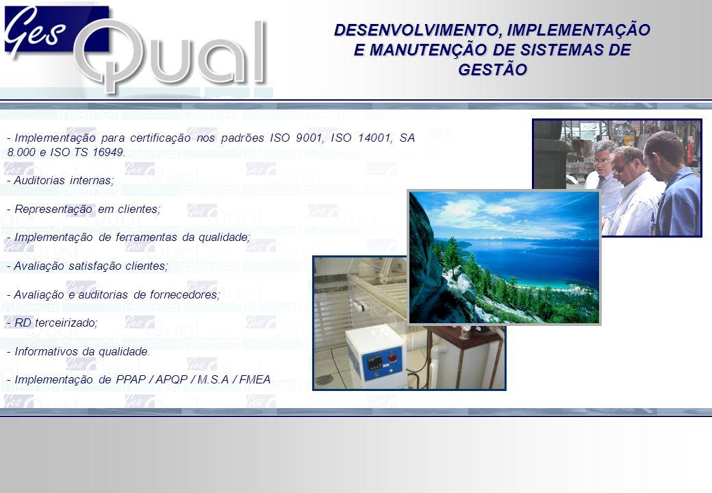 - Administração de processos de compras, financeiro, recursos humanos, comercial, qualidade, logística, manutenção e produção.