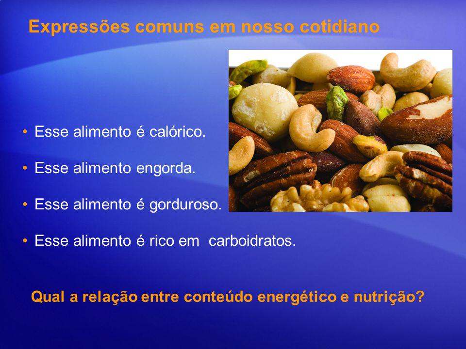 Como podemos relacionar o conteúdo energético do alimento com: obesidade? atividade física?