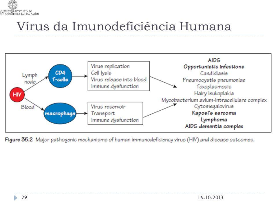 Vírus da Imunodeficiência Humana 16-10-201329