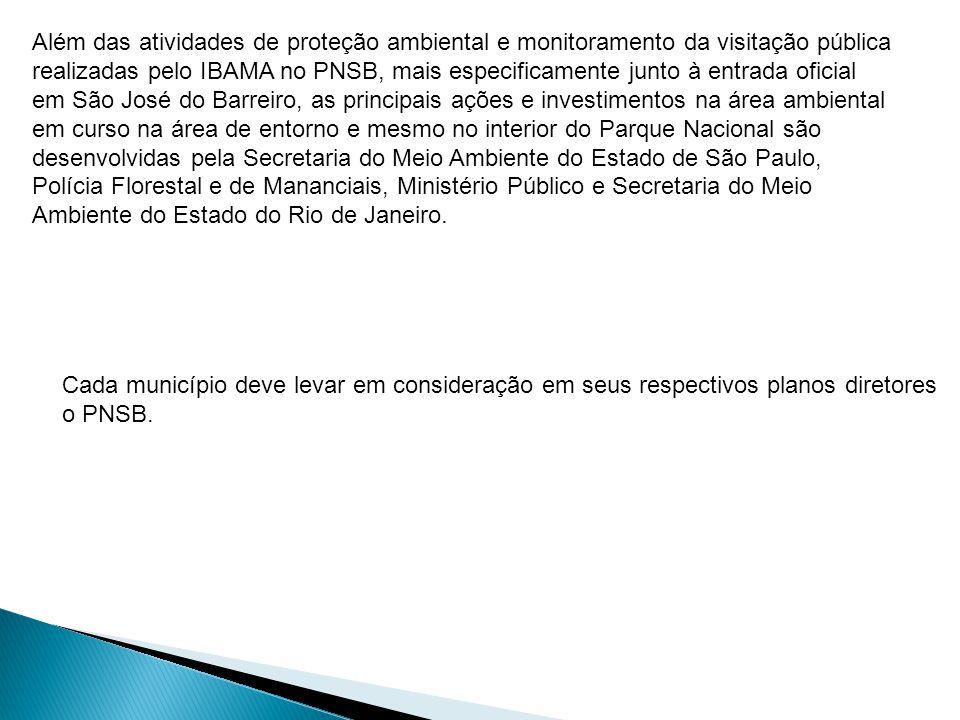 Cada município deve levar em consideração em seus respectivos planos diretores o PNSB.