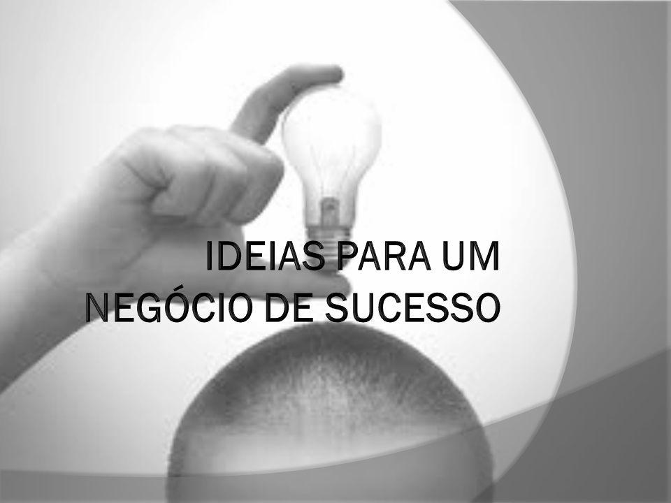 Introdução  A partir desta apresentação, pode ter acesso a alguma ideias para um negócio de sucesso.