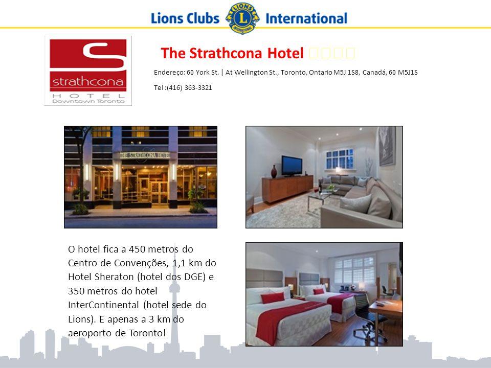 The Strathcona Hotel ★★★★ Endereço: 60 York St. | At Wellington St., Toronto, Ontario M5J 1S8, Canadá, 60 M5J1S Tel :(416) 363-3321 O hotel fica a 450