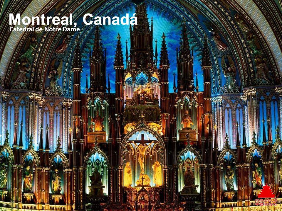 Catedral de Notre Dame Montreal, Canadá