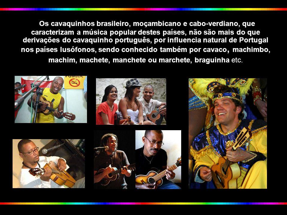 O Cavaquinho é um instrumento musical de origem portuguesa, e é também um objecto que se pode considerar, uma marca das influências culturais que Port