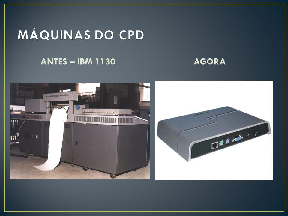 ANTES – IBM 1130AGORA