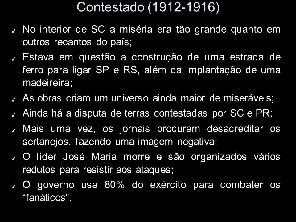 Os movimentos rurais na República Velha CABOCLOS ARMADOS x SOLDADOS FEDERAIS MOVIMENTO RURAL MESSIÂNICO – CONTESTADO (1912 - 1916) PARANÁ E SANTA CATA