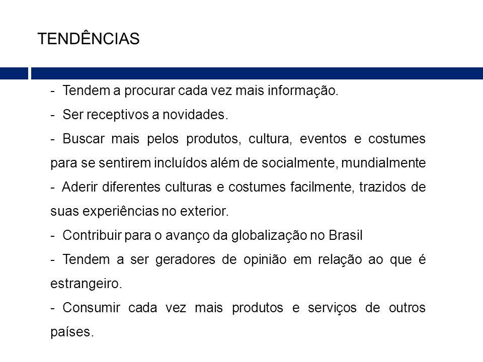 Relevância do Tema: - Através da entrevista posso acrescentar na pesquisa, a positiva geração de conteúdo estrangeiro desse público no Brasil e a busca pela informação mundial constante que influi na globalização.