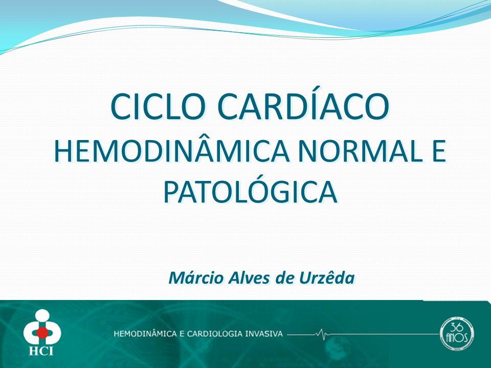CICLO CARDÍACO HEMODINÂMICA NORMAL E PATOLÓGICA Márcio Alves de Urzêda