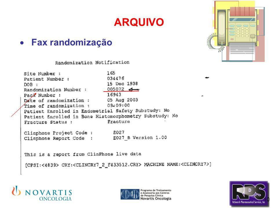 10 ARQUIVO  Fax randomização