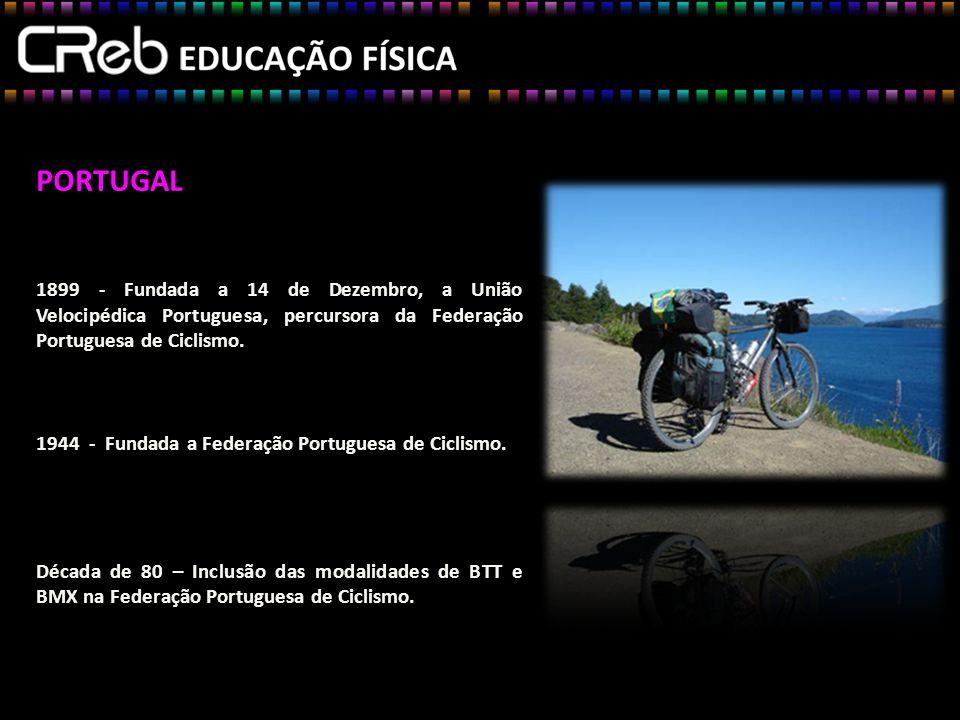 PORTUGAL 1899 - Fundada a 14 de Dezembro, a União Velocipédica Portuguesa, percursora da Federação Portuguesa de Ciclismo.