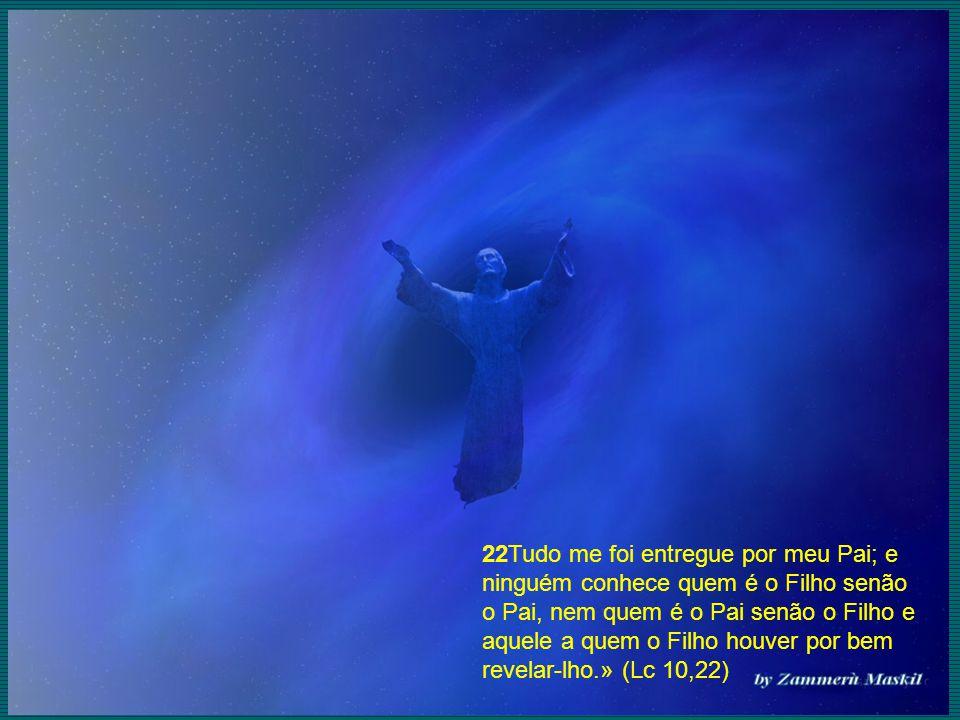 22Tudo me foi entregue por meu Pai; e ninguém conhece quem é o Filho senão o Pai, nem quem é o Pai senão o Filho e aquele a quem o Filho houver por be
