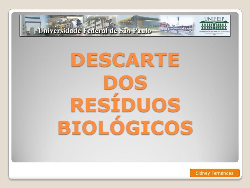 ACONDICIONAMENTO • O laboratório gerador deve ser responsável pelo acondicionamento das carcaças de animais diretamente no freezer do depósito de resíduos biológicos.